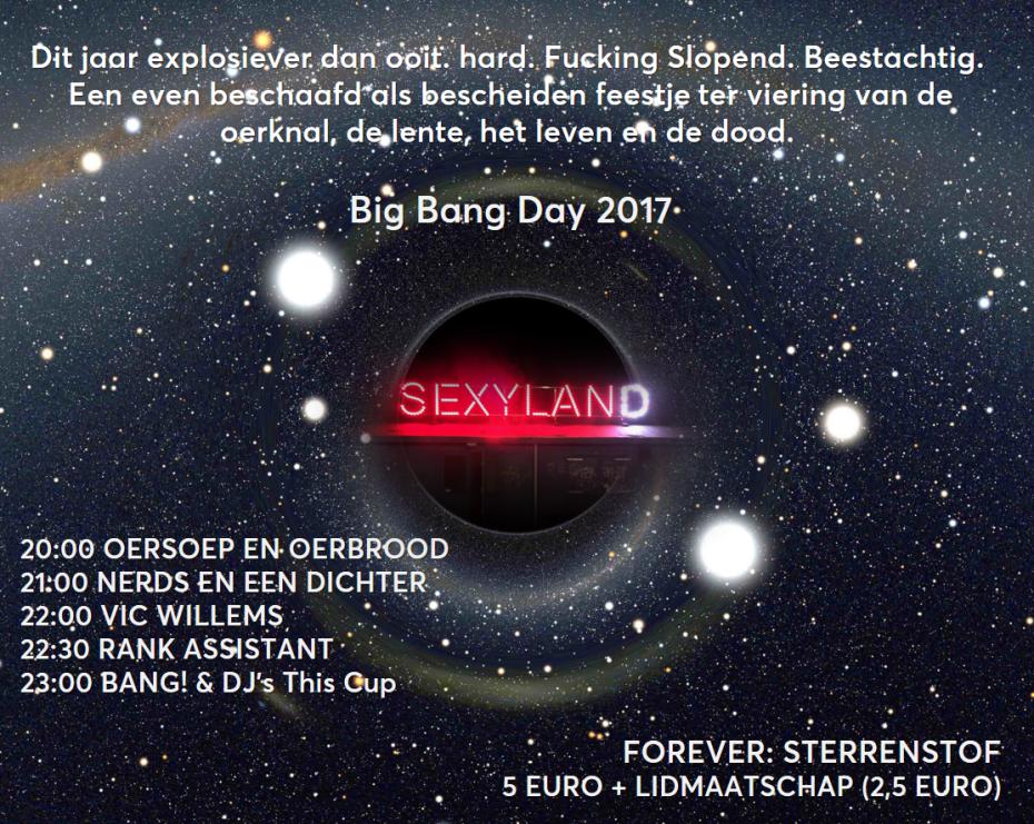 Big Bang Day 2017
